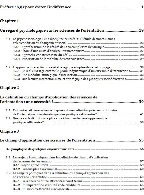 Table des mati res laboratoire sur le d veloppement du pouvoir d 39 agir des personnes et des - Exemple table des matieres ...